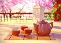 The origin of the tea ceremony