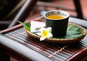 Fragrant jasmine tea