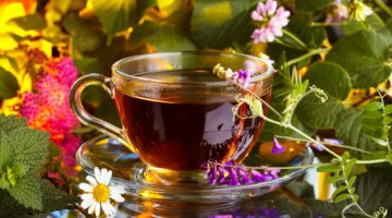 Side effects of herbal teas on vision