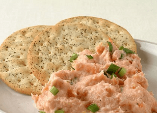 Pink salmon pate from Nigella Lawson