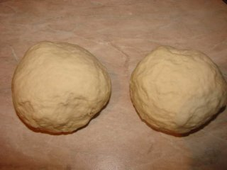 Pizza dough FROM Wolfgang Puck