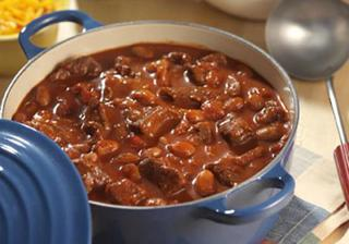 Braised pork with beans from Guy Fieri